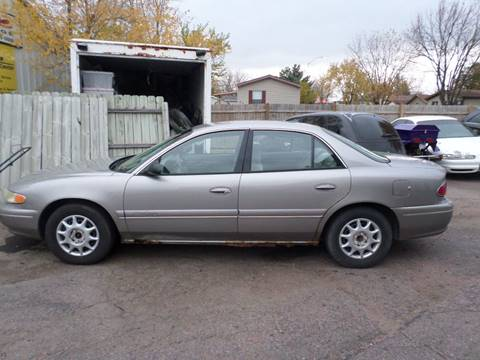 1999 Buick Century for sale at ZITTERICH AUTO SALE'S in Sioux Falls SD