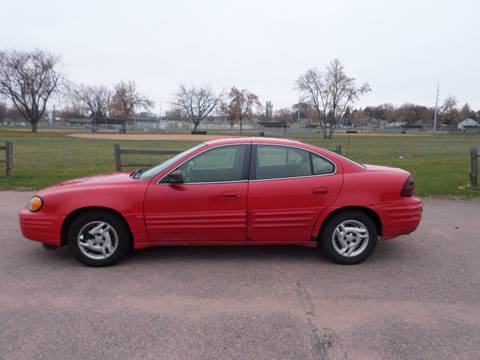 1999 Pontiac Grand Am for sale at ZITTERICH AUTO SALE'S in Sioux Falls SD