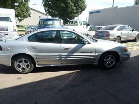 2001 Pontiac Grand Am for sale at ZITTERICH AUTO SALE'S in Sioux Falls SD