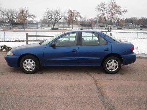 2004 Chevrolet Cavalier for sale at ZITTERICH AUTO SALE'S in Sioux Falls SD