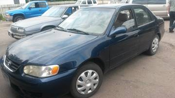 2001 Toyota Corolla for sale at ZITTERICH AUTO SALE'S in Sioux Falls SD
