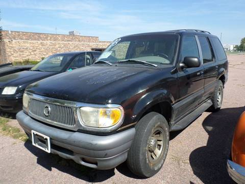 1998 Mercury Mountaineer for sale at ZITTERICH AUTO SALE'S in Sioux Falls SD
