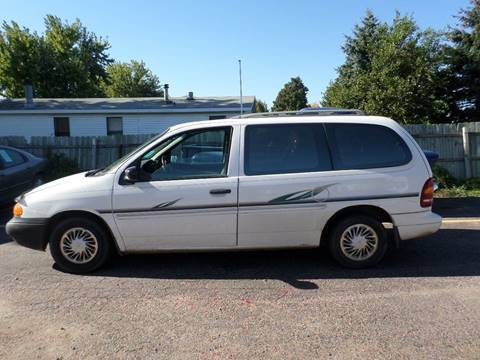 1998 Ford Windstar for sale at ZITTERICH AUTO SALE'S in Sioux Falls SD