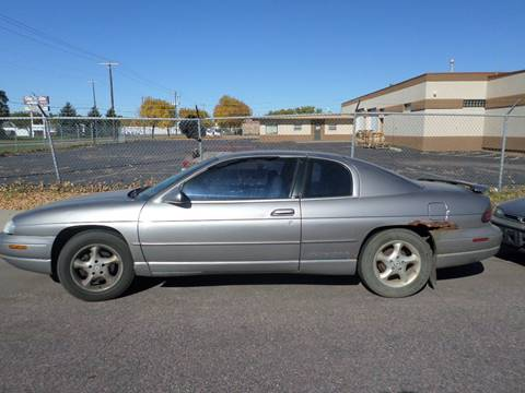 1997 Chevrolet Monte Carlo for sale at ZITTERICH AUTO SALE'S in Sioux Falls SD