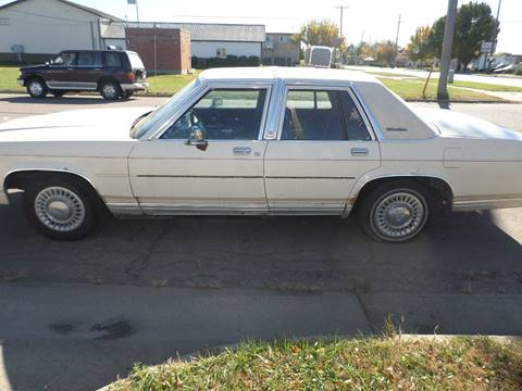1991 Ford LTD Crown Victoria for sale at ZITTERICH AUTO SALE'S in Sioux Falls SD