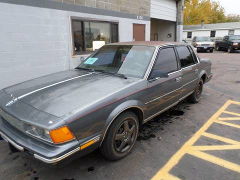 1988 Buick Century for sale at ZITTERICH AUTO SALE'S in Sioux Falls SD