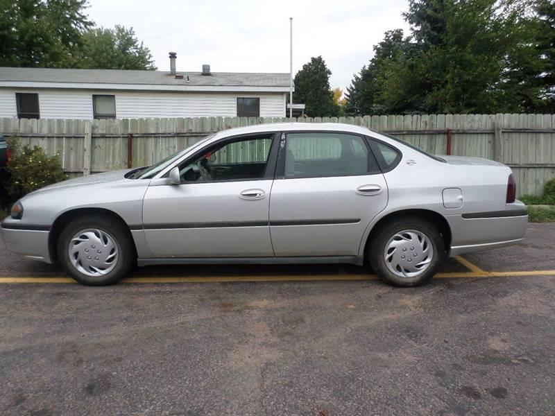 2003 Chevrolet Impala for sale at ZITTERICH AUTO SALE'S in Sioux Falls SD