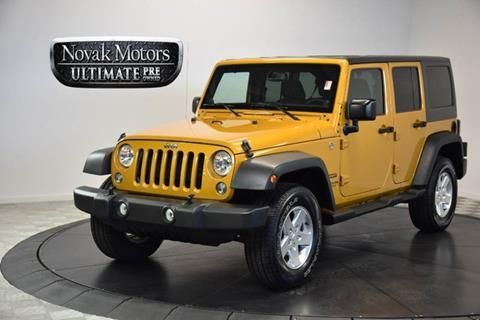2014 Jeep Wrangler Unlimited for sale in Farmingdale NY