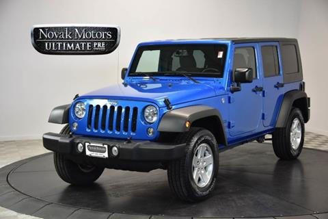 2015 Jeep Wrangler Unlimited for sale in Farmingdale NY