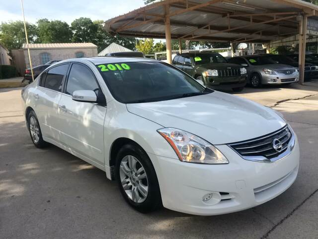 Beautiful 2010 Nissan Altima For Sale At Any Cars Inc In Grand Prarie TX