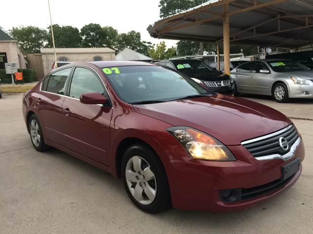 2007 Nissan Altima For Sale At Any Cars Inc In Grand Prarie TX