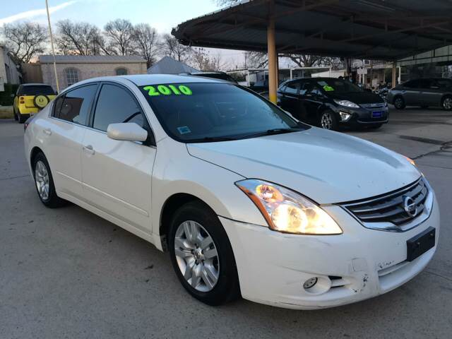 2010 nissan altima 2 5 s in grand prarie tx any cars inc. Black Bedroom Furniture Sets. Home Design Ideas