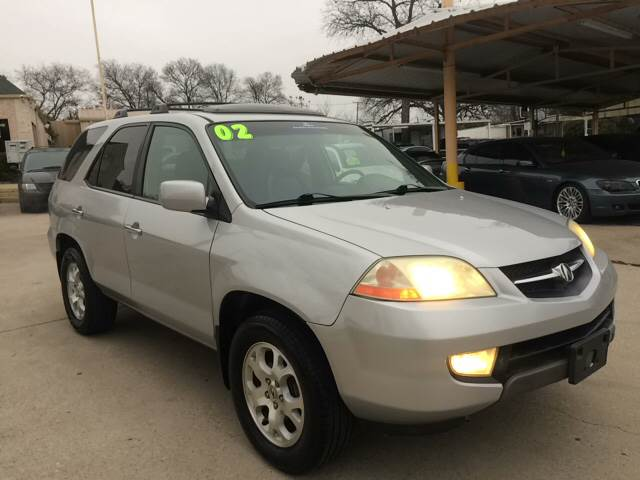 Acura MDX Touring In Grand Prarie TX Any Cars Inc - 2002 acura mdx tires