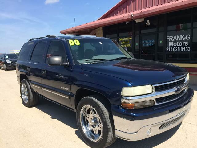 2000 Chevrolet Tahoe Ls In Grand Prarie Tx Any Cars Inc