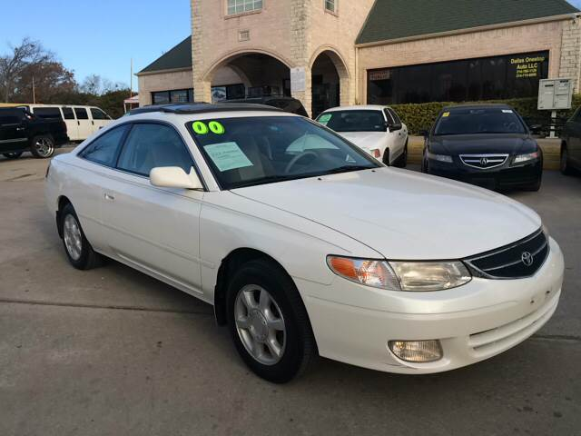 2000 Toyota Camry Solara For Sale At Any Cars Inc In Grand Prarie TX