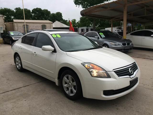 2008 Nissan Altima For Sale At Any Cars Inc In Grand Prarie TX