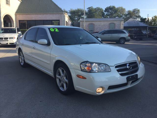 2002 Nissan Maxima For Sale At Any Cars Inc In Grand Prarie TX