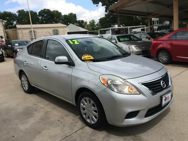 2012 Nissan Versa 16 Sv In Grand Prarie Tx Any Cars Inc