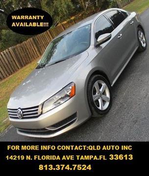 2012 Volkswagen Passat for sale in Tampa, FL