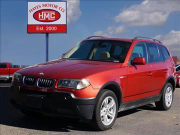2005 BMW X3 for sale in Lubbock, TX