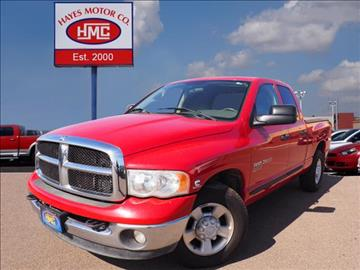 2005 Dodge Ram Pickup 2500 for sale in Lubbock, TX
