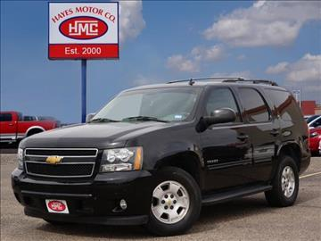 chevrolet tahoe for sale in lubbock tx