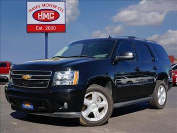 2013 Chevrolet Tahoe For Sale In Lubbock Tx