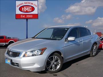 2009 Honda Accord for sale in Lubbock, TX