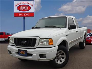 2005 Ford Ranger For Sale In Lubbock Tx