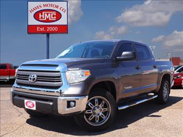 2015 Toyota Tundra for sale in Lubbock, TX