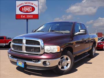 2005 Dodge Ram Pickup 2500 for sale in Lubbock, TX
