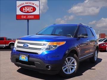 2014 Ford Explorer for sale in Lubbock, TX