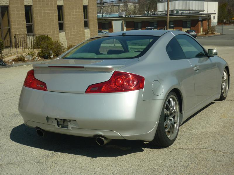 2007 Infiniti G35 2dr Coupe (3.5L V6 5A) - Braintree MA