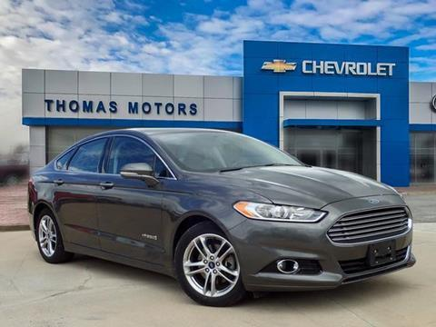 2015 Ford Fusion Hybrid for sale in Moberly, MO