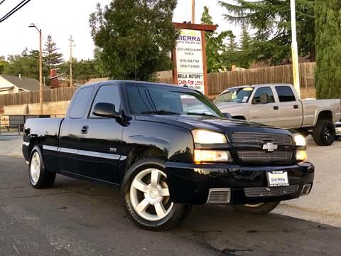 2003 Chevrolet Silverado 1500 SS for sale in Auburn, CA