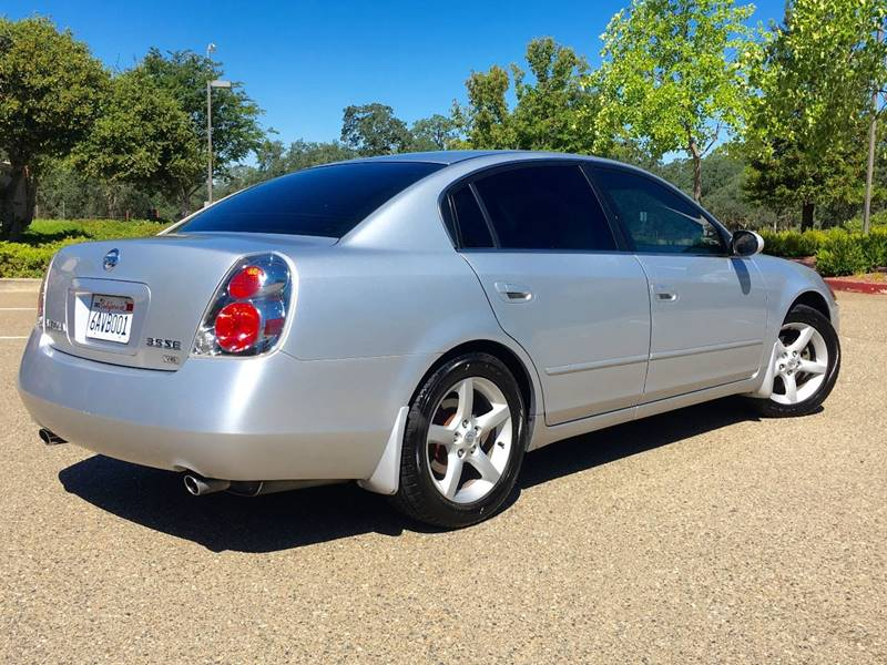 2006 Nissan Altima 35 Se 4dr Sedan Wautomatic In Auburn Ca