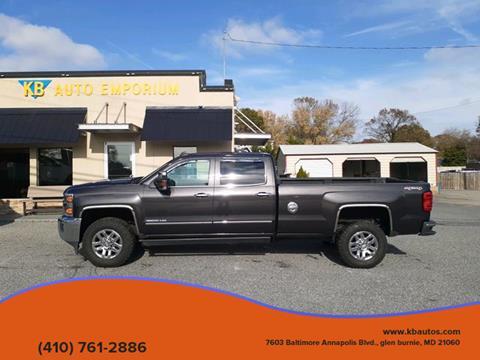 2016 Chevrolet Silverado 3500HD for sale in Glen Burnie, MD