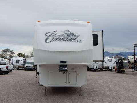 2009 Forest River Cardinal 33LE for sale at Eastside RV Liquidators in Tucson AZ