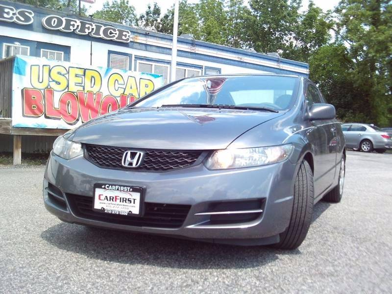 2010 Honda Civic For Sale At CARFIRST BALTIMORE In Baltimore MD