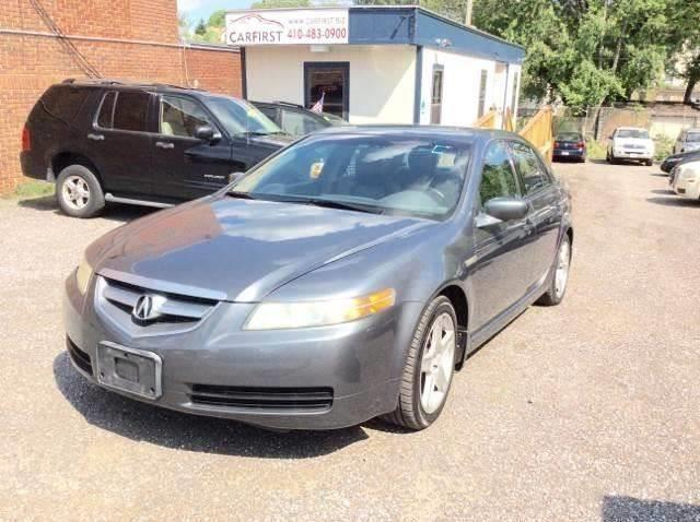 Acura TL WNavi In Baltimore MD CARFIRST BALTIMORE - Acura tl for sale in md