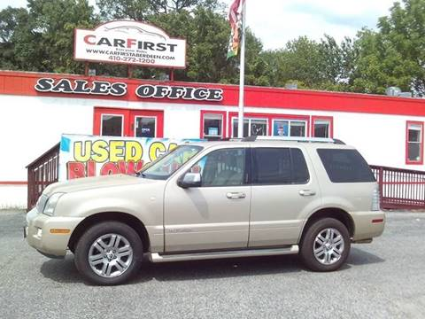 2007 Mercury Mountaineer for sale at CARFIRST BALTIMORE in Baltimore MD