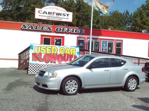 2011 Dodge Avenger for sale at CARFIRST BALTIMORE in Baltimore MD