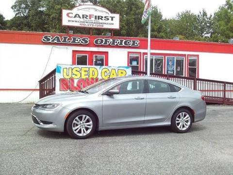 2015 Chrysler 200 for sale at CARFIRST BALTIMORE in Baltimore MD
