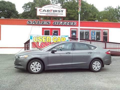 2013 Ford Fusion for sale at CARFIRST BALTIMORE in Baltimore MD