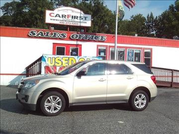 2012 Chevrolet Equinox for sale at CARFIRST BALTIMORE in Baltimore MD