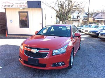 2012 Chevrolet Cruze for sale at CARFIRST BALTIMORE in Baltimore MD