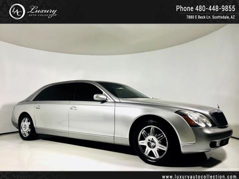 2005 Maybach 62 for sale in Scottsdale, AZ