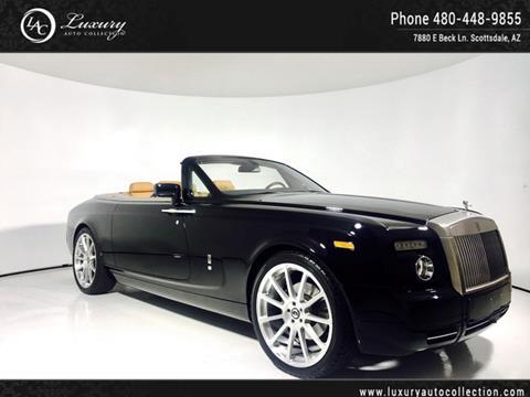 2009 Rolls-Royce Phantom Drophead Coupe for sale in Scottsdale, AZ