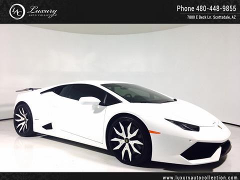 2015 Lamborghini Huracan for sale in Scottsdale, AZ