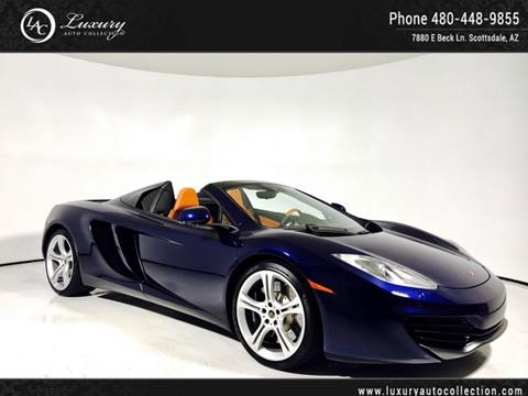 2013 McLaren MP4-12C Spider for sale in Scottsdale, AZ